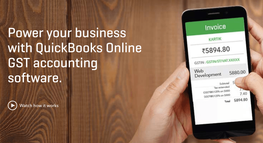 quickbooks accounting online software in India