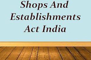 Shops and Establishments Act License