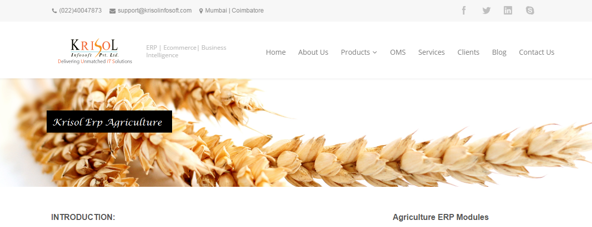 agriculture software