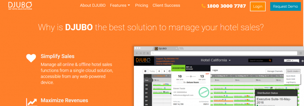 djubo Hotel Management Software