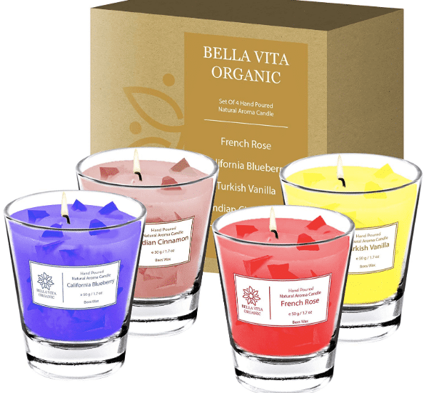 bella vita scented candles