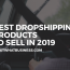 Bestselling Dropshipping Products To Sell In 2019