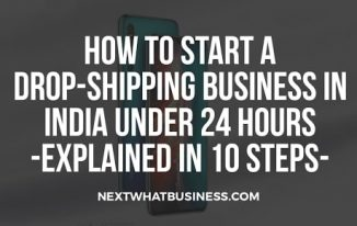 how to start a dropshippping business in India