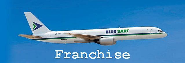 blue dart franchise