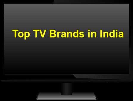 top tv brands in India